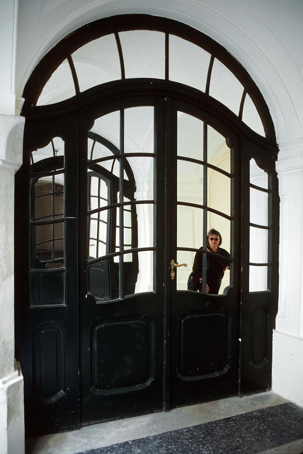 door Jugendstil Doorway,  Vienna, Austria, 2001