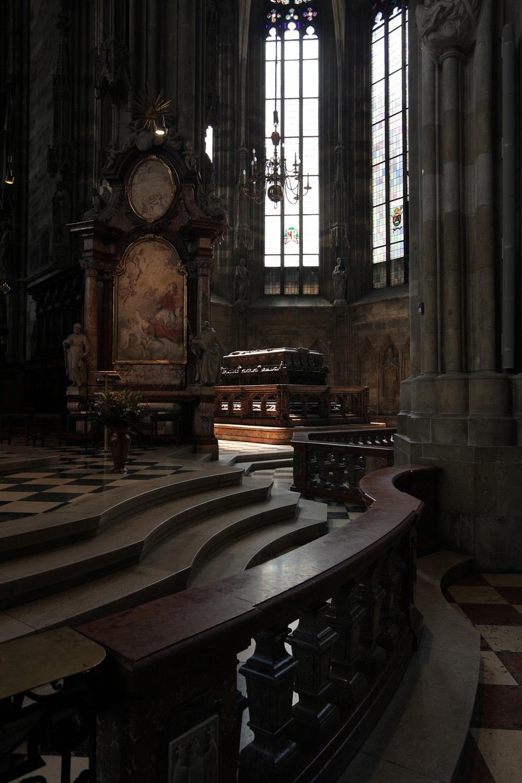 fredericktomb St. Stephen's Cathedral,  Vienna, Austria, 2013