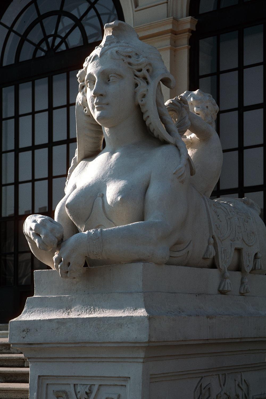 sphinx Belevedere Garden,  Vienna, Austria, 2001