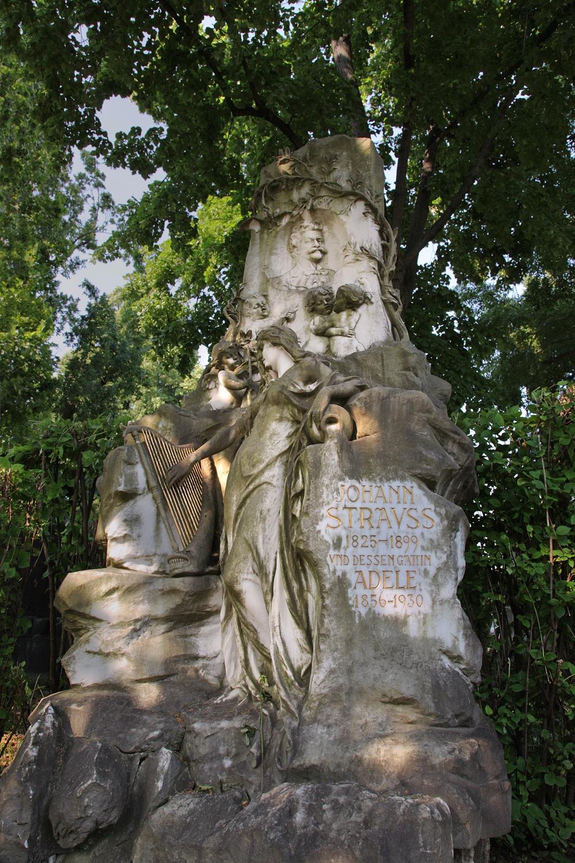 straussB Central Cemetery,  Vienna, Austria, 2013