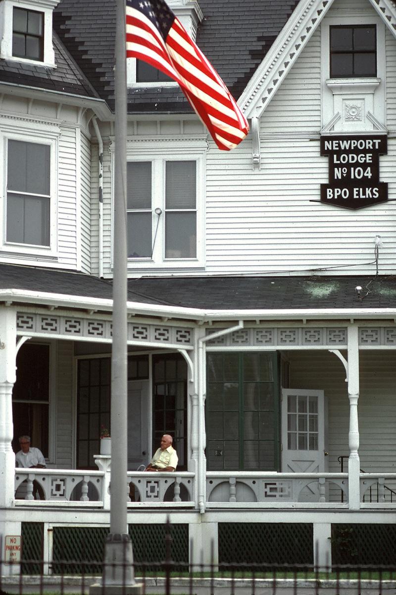 bpoe BPOE, Newport, Rhode Island, 1980