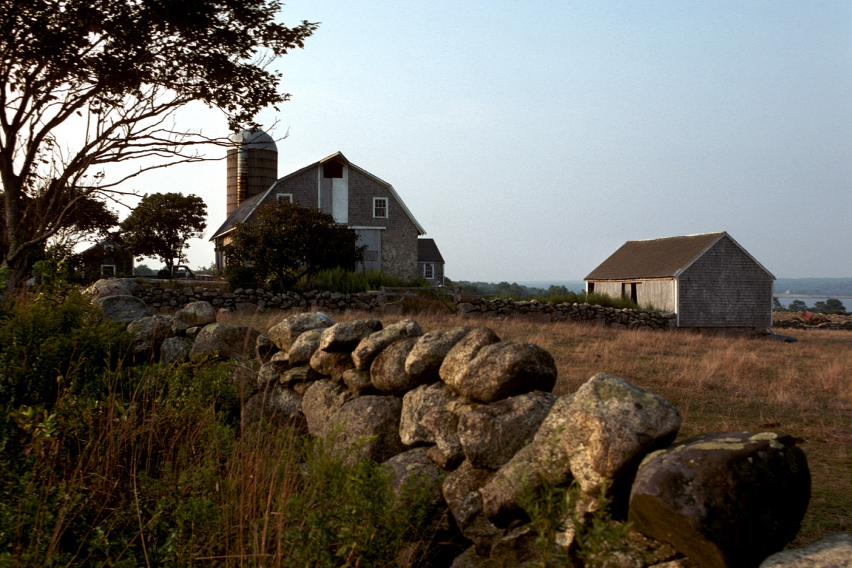 farm Farm,  Little Compton, Rhode Island, 1980