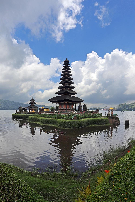 bratantemple Pura Ulun Danu Bratan,  Lake Bratan,  Bali, Indonesia, 2016