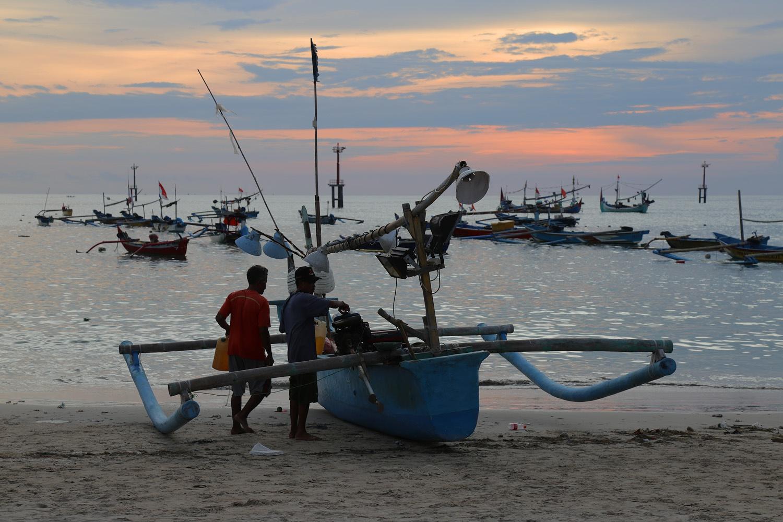 jimbaranharborB Kedonganan Beach,  Jimbaran,  Bali, Indonesia, 2016