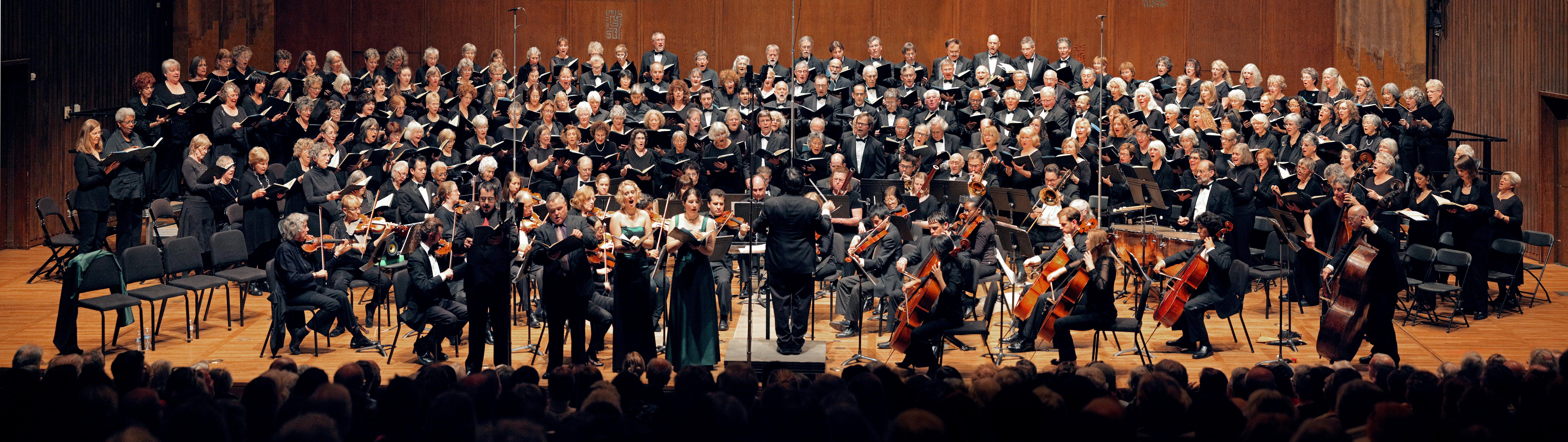 12-16-12C(web) Mozart, Great Mass in C Minor,  Hertz Hall, UC Berkeley,   Fall, 2012