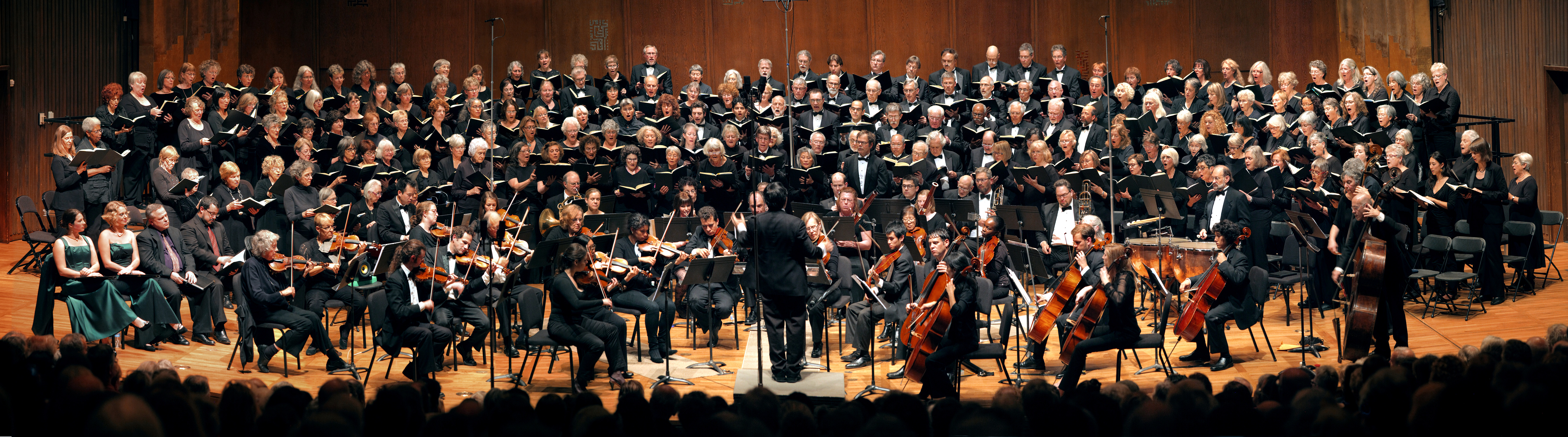 12-16-12G(web) Mozart, Great Mass in C Minor,  Hertz Hall, UC Berkeley,  Fall, 2012