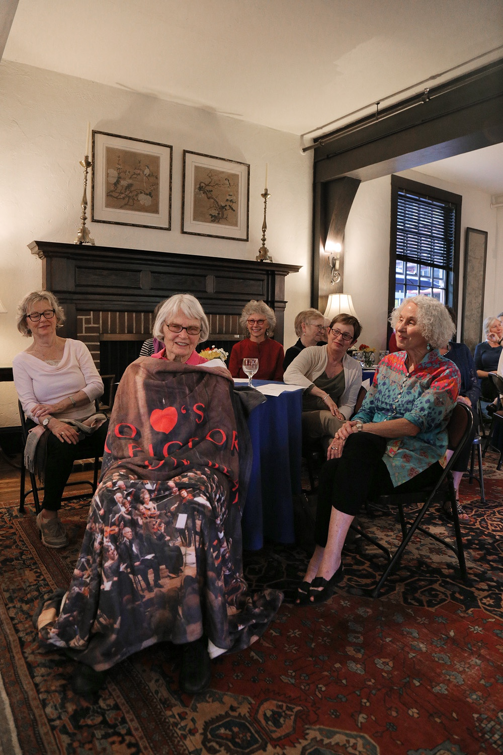 bettyblanket Betty Pigford Parting Party,  Berkeley, California, 2016