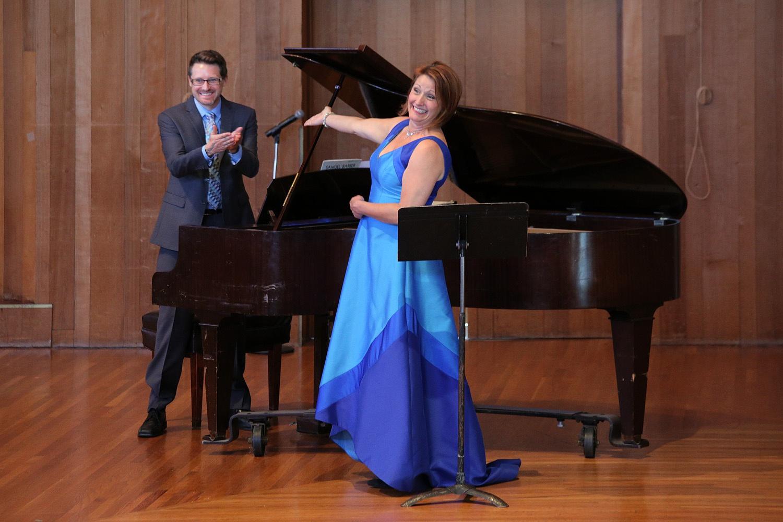 carriejasonJ Carrie Hennessey, soprano, Jason Sherbundy, piano,  Berkeley California, 2017