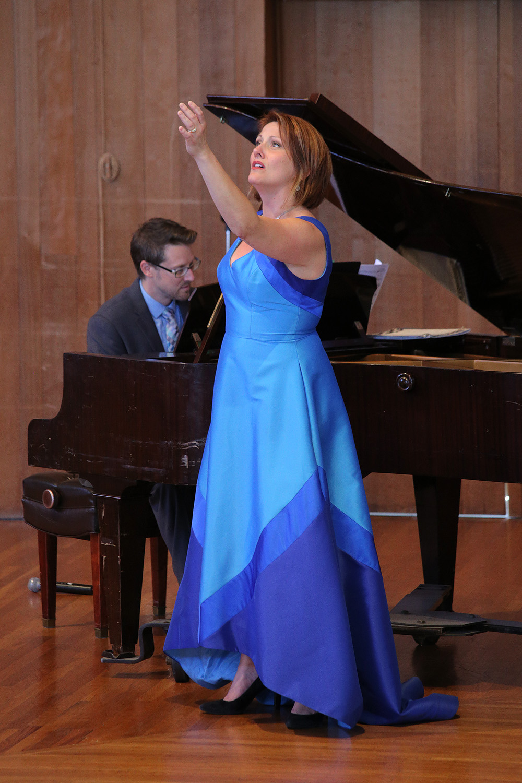 carriejasonL Carrie Hennessey, soprano, Jason Sherbundy, piano,  Berkeley California, 2017