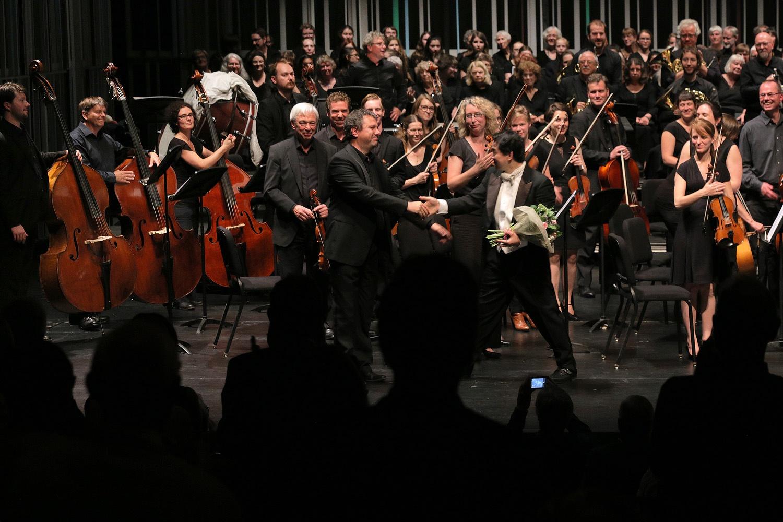 e16-brugesconductors Geert Baetens Conductor, Oost-Vlaams Symfonisch Orkest,  Concertgebouw Brugge,  Bruges, Belgium, 2016