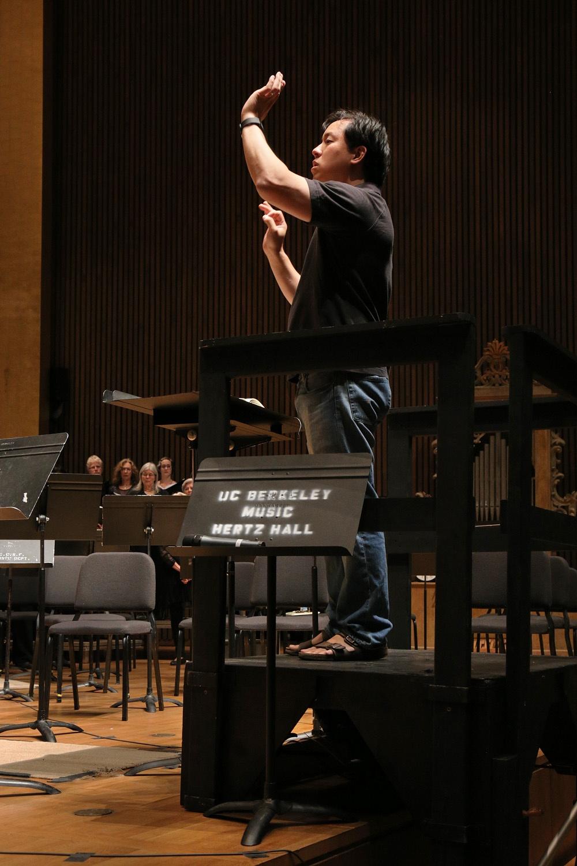 s15-mingC Ming Luke,  BCCO Spring Concert,  Hertz Hall, UC Berkeley,  Berkeley, California, 2015
