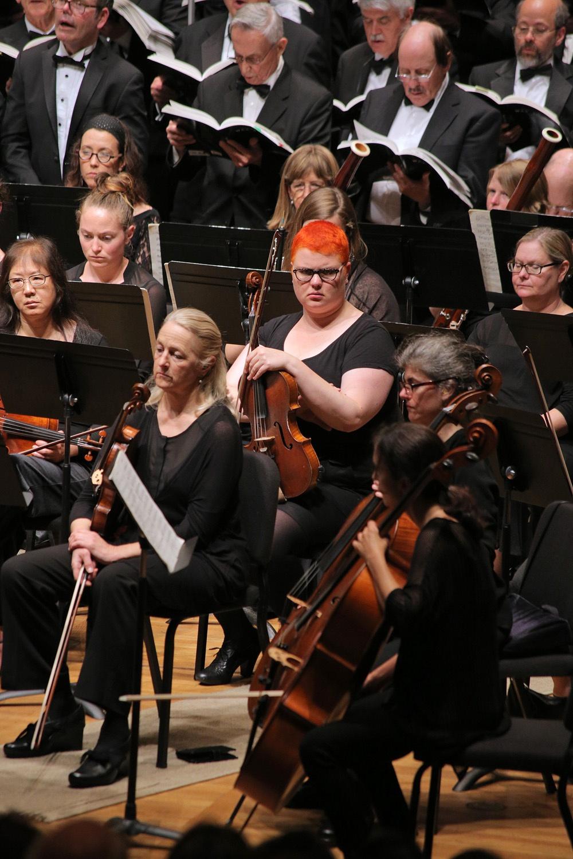 s16-redhead BCCO Spring Concert,  Hertz Hall,  Berkeley, California, 2016