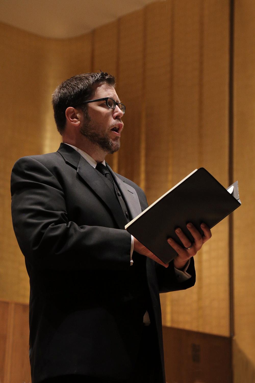 s17-brianB Brain Thorsett, tenor,  BCCO Spring Concert,  Hertz Hall,  Berkeley, California, 2017