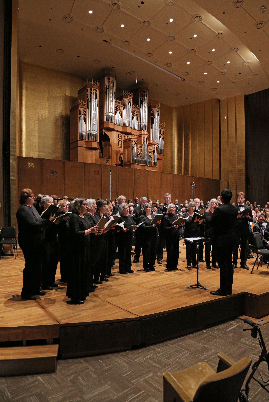 s17-chambersingers Chamber Singers,  Derek Tam, director,  BCCO Spring Concert,  Hertz Hall,  Berkeley, California, 2017