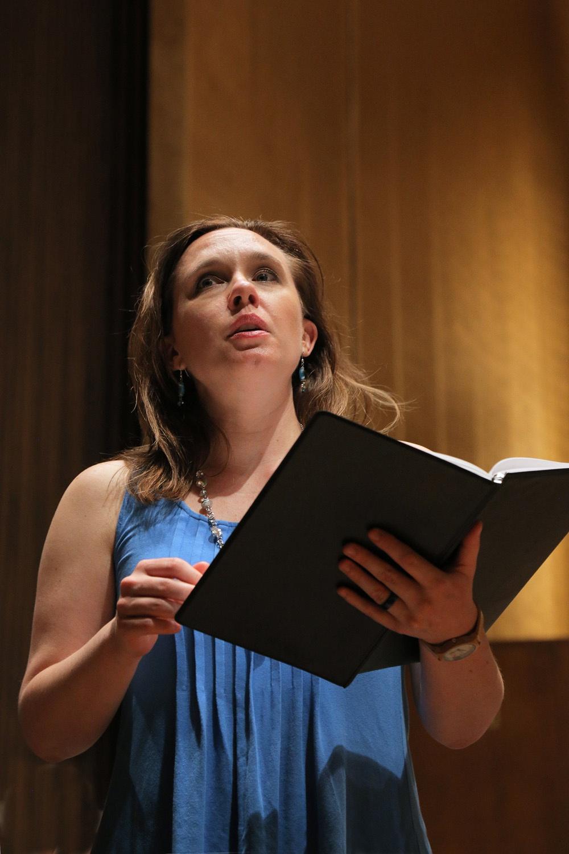 s17-karaA Kara Cornell, mezzo-soprano,  BCCO Spring Concert,  Hertz Hall,  Berkeley, California, 2017