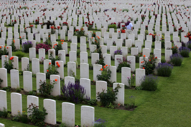 yprescemeteryA Passchendaele Cemetery,  Near Ypres, Belgium, 2016