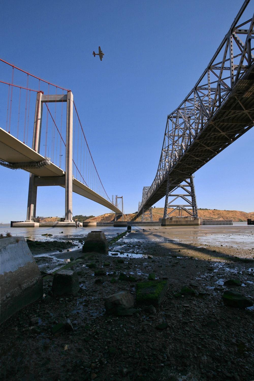 airplanebridges Carquinez Bridge,  Crockett, California, 2008