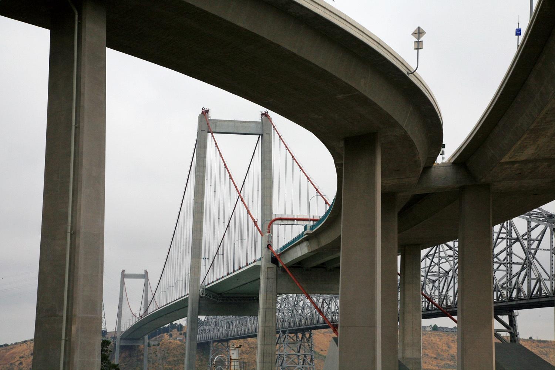 bridgeonramps Carquinez Bridge,  Crockett, California, 2008