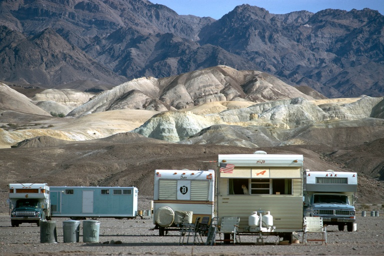 desertcamp Desert Scenery, Death Valley, California, 1974
