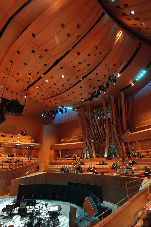 disneyinside Walt Disney Concert Hall,  Los Angeles, California, 2012