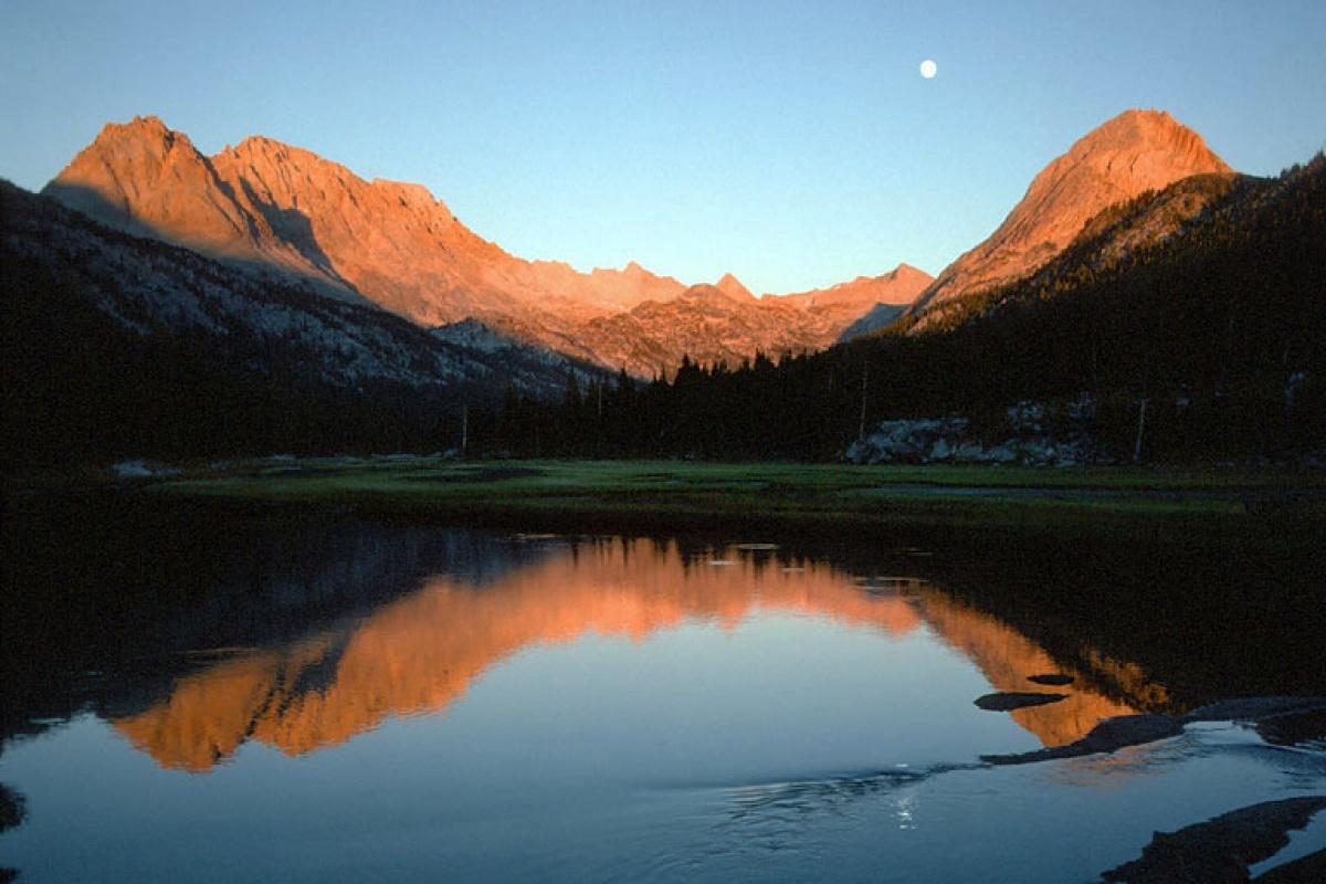 evolution Moonrise, Evolution Valley, California, 1978