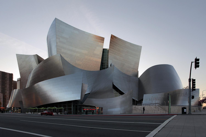 fullfacade Walt Disney Concert Hall,  Los Angeles, California, 2012