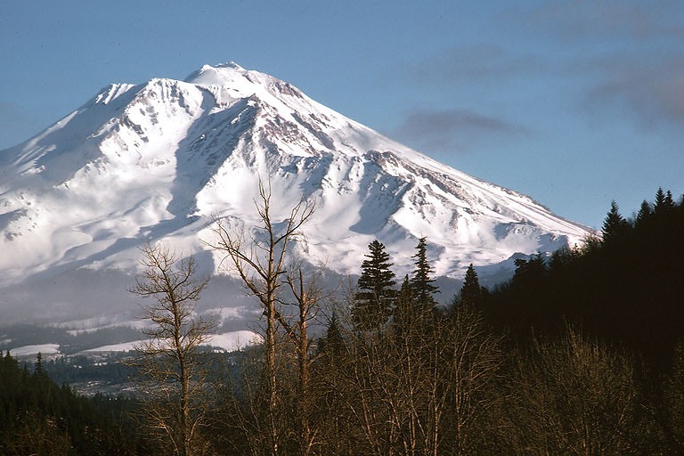 shasta  Mount Shasta, California, 1975