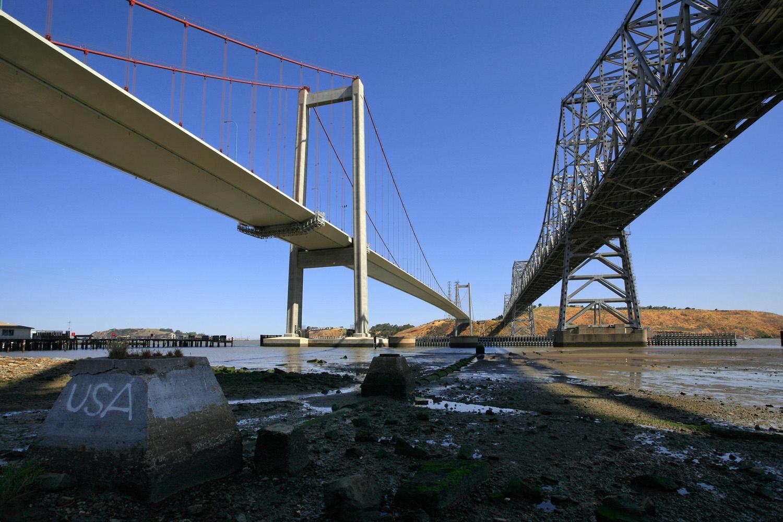 usabridges Carquinez Bridge,  Crockett, California, 2008