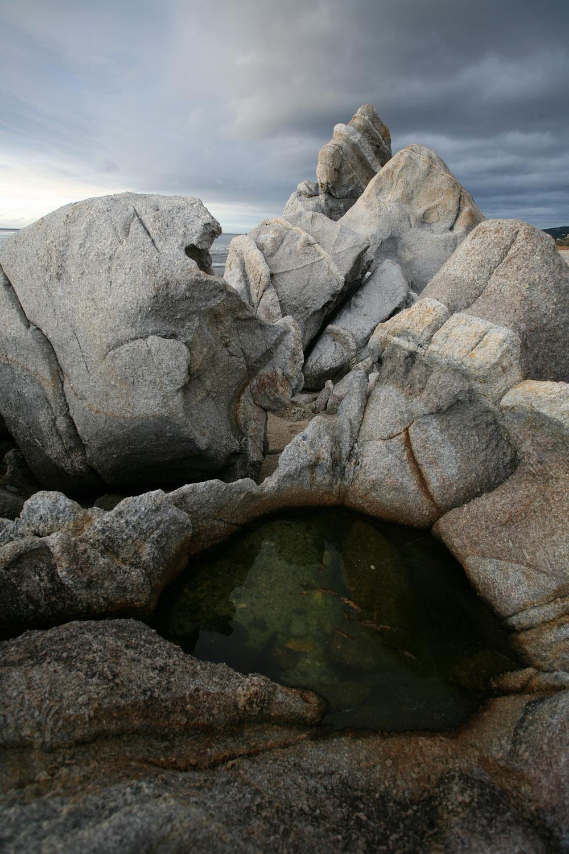 rockpool Schoolhouse Beach, Carmel, California, 2008