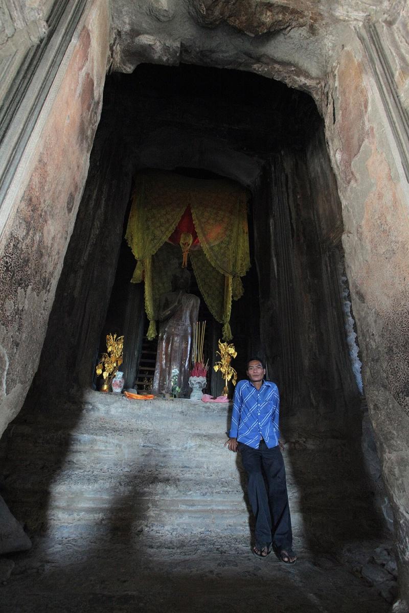 angkorcenter Central Shrine, Angkor Wat, Angkor, Cambodia, 2010