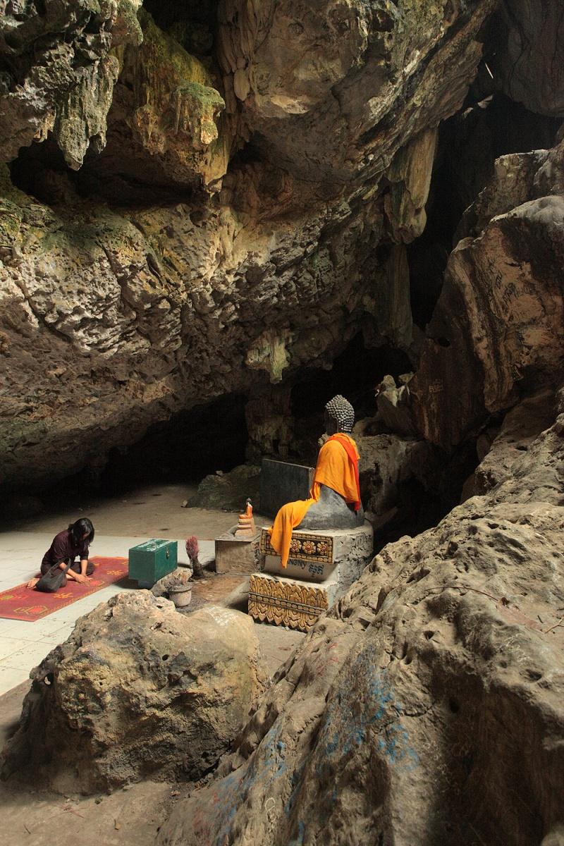 buddhagrotto Holy Grotto, Phnom Sampeau, Cambodia, 2010