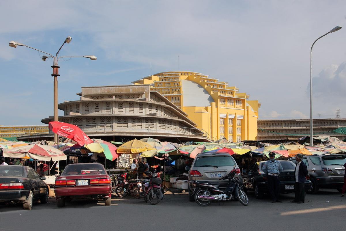 centralmarket Central Market, Phnom Penh, Cambodia, 2010