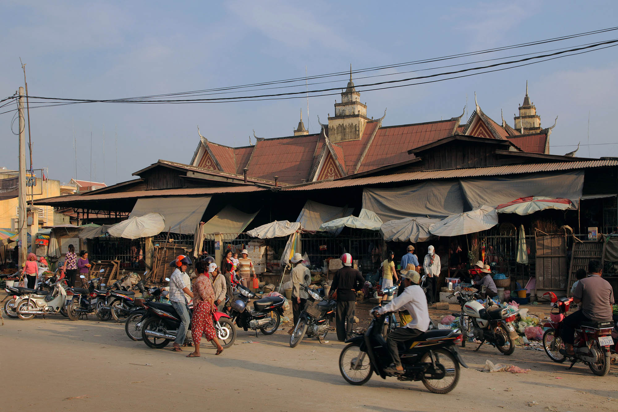 sisophonemarket Market, Sisophone, Cambodia, 2010
