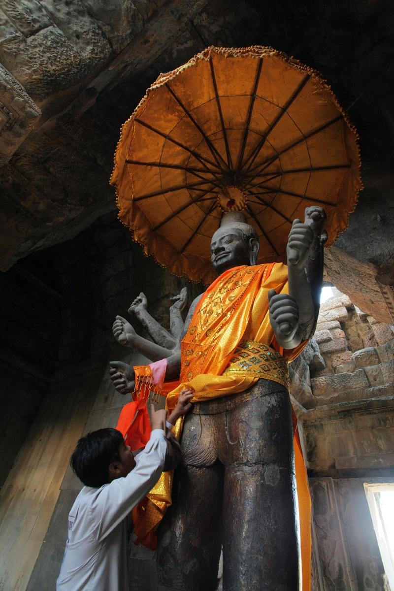 vishnu Vishnu, Ankor Wat, Angkor, Campodia, 2010