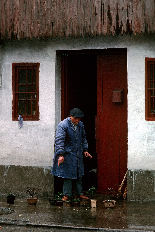 bonsai Bonsai Gardener,  Suzhou, China, 1988
