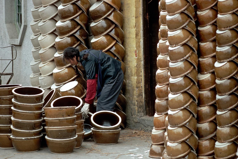 bowls Bowls, Fushan, China, 1979