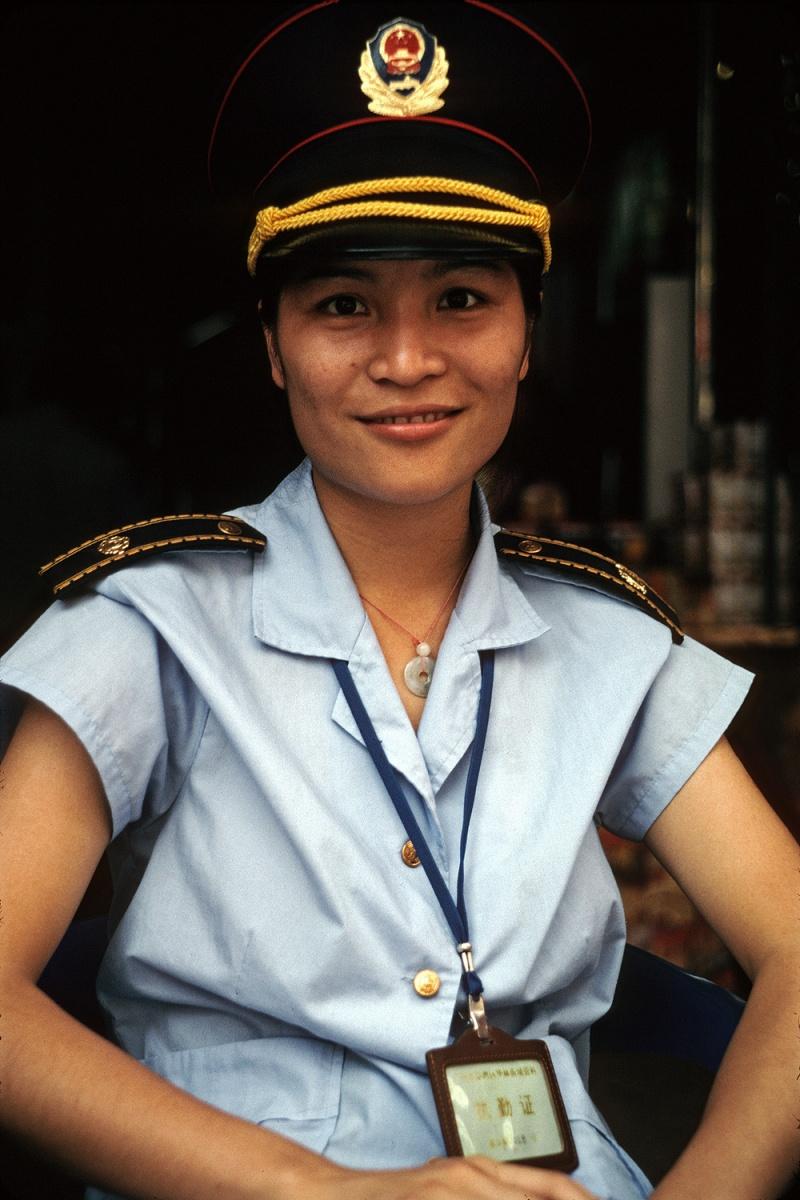 policewoman Policewoman,  Guangzhou, China, 2002