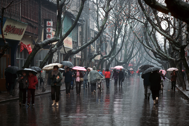 rainystreet Main Street,  Suzhou, China, 1988