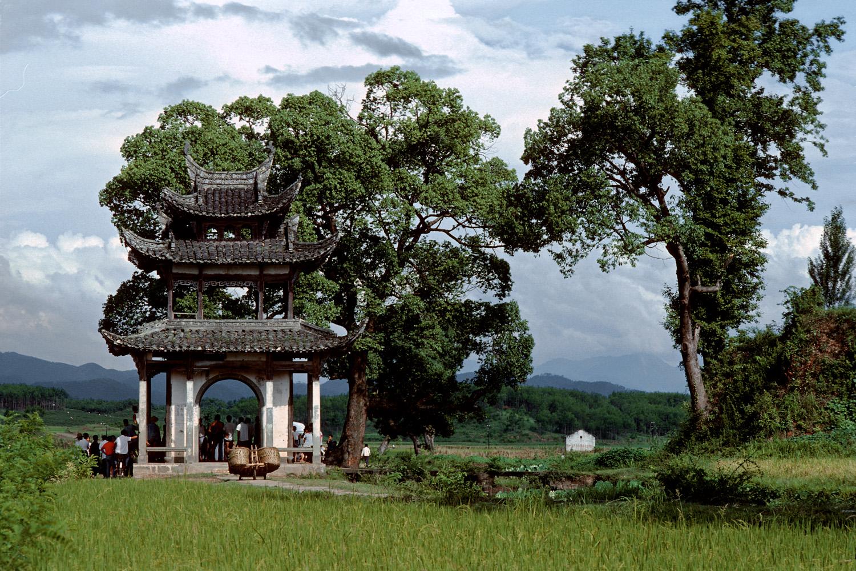 roofedgate Roofed Gate,  Tong Mu, Anhui, China, 1981