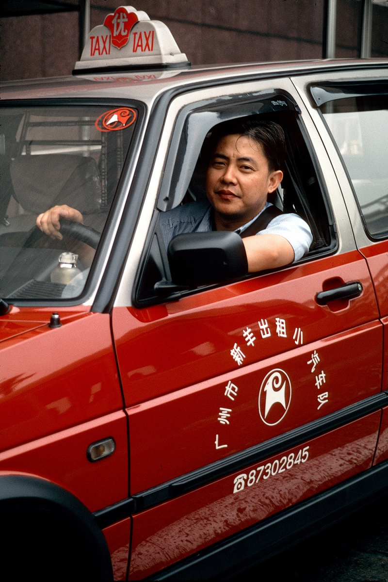 taxi Taxi, Guangzhou, China, 2002