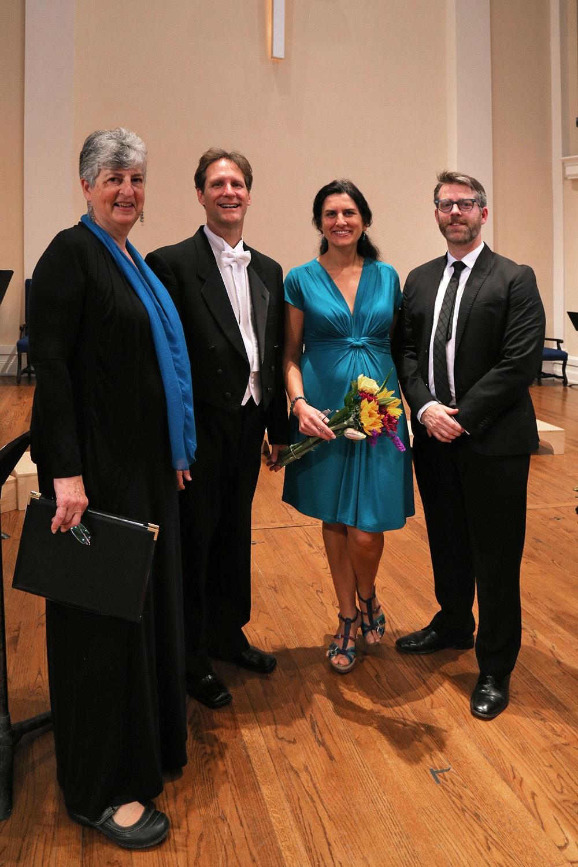 quartet Carol Handelman, Paul Flight, Nalini Ghuman, Andrew Dixon,  Berkeley,California, 2015