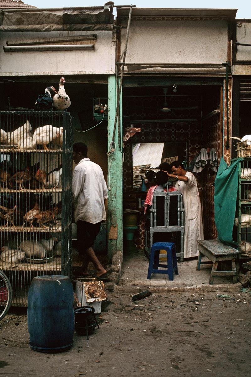 barbershop Barbershop,  Aswan, Egypt, 1998