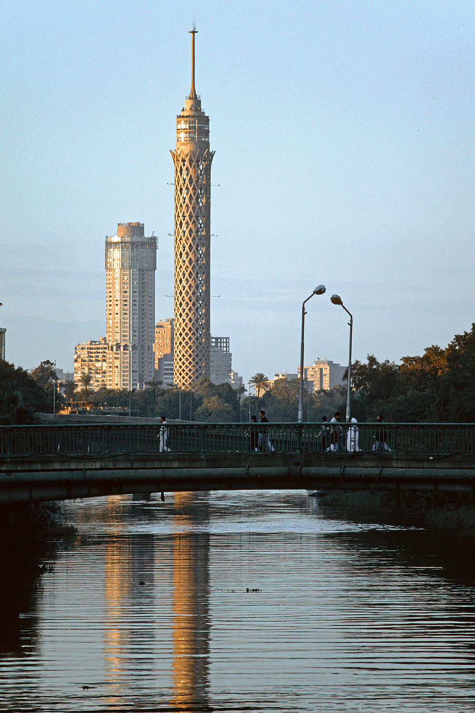 cairotower Cairo Tower, Cairo, Egypt, 1998