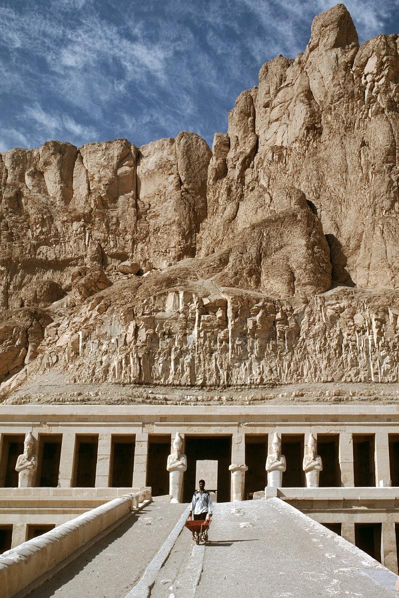 hatshepsut Temple of Hatshepsut, Der-el-Bahari, Egypt, 1998