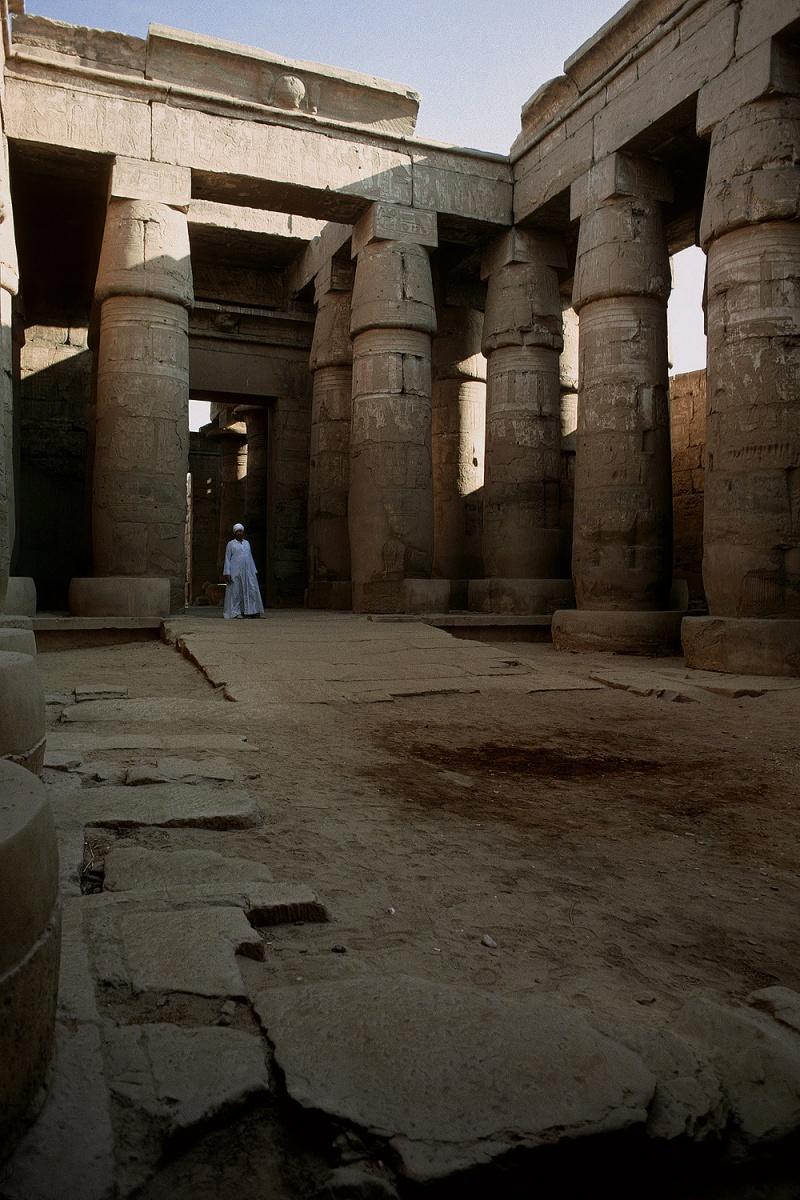 khons Temple of Khons, Karnak, Egypt, 1998