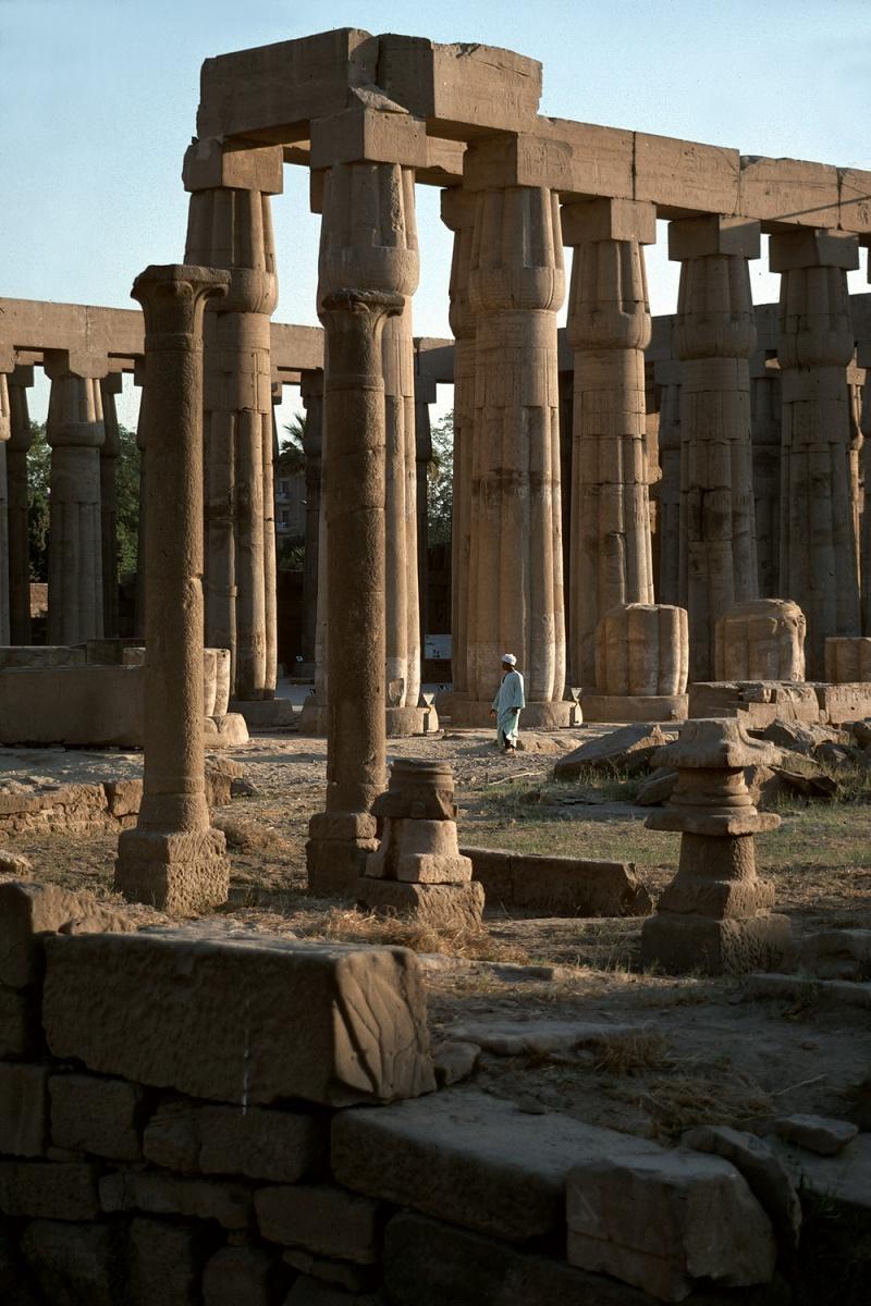 luxor Temple of Luxor, Luxor, Egypt, 1998