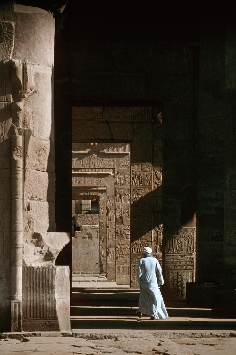 ombo Temple of Sobek & Haroeris, Kom Ombo, Egypt, 1998