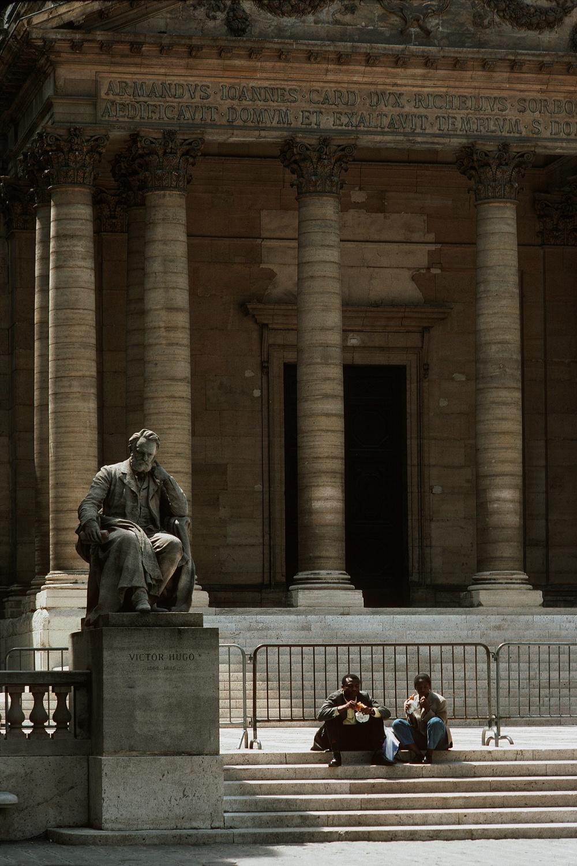 sorbonne The Sorbonne,  Paris, France, 1990