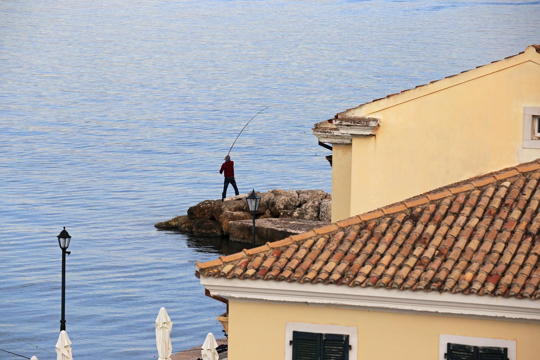17-fisherman Faliraki,  Kerkyra, Corfu, Greece, 2017