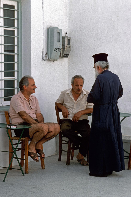 cafe Café,  Sifnos, Greece, 1992